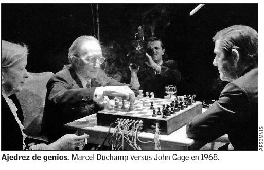 Marcel Duchamp vs John Cage 1968